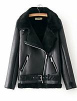 baratos -jaqueta de pu feminina - contemporânea