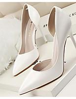 abordables -Femme Chaussures de confort Polyuréthane Printemps Chaussures à Talons Talon Aiguille Blanc / Noir / Jaune