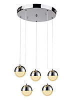 cheap -QIHengZhaoMing 5-Light Chandelier Ambient Light 110-120V / 220-240V, Warm White, Bulb Included