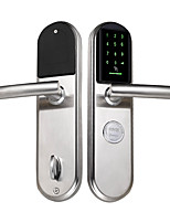 abordables -Factory OEM Intelligent Lock Smart Home Security Système RFID / Mode de combinaison de porte multiple Appartement / Un hôtel / Bureau (Mode de déverrouillage Mot de passe / Clé mécanique / Carte)