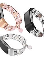Недорогие -Ремешок для часов для Fitbit Charge 2 Fitbit Дизайн украшения Керамика Повязка на запястье