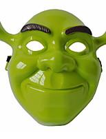 Недорогие -Праздничные украшения Украшения для Хэллоуина Маски на Хэллоуин Декоративная Зеленый 1шт