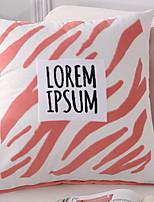 abordables -1 pcs Coton / Lin Housse de coussin, Citations & Dictons Moderne / Contemporain