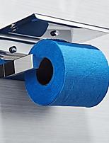 Недорогие -Держатель для туалетной бумаги Новый дизайн Современный Нержавеющая сталь 1шт На стену