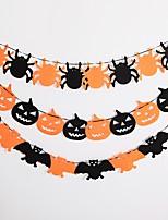 Недорогие -Вечеринка Нетканый материал 1шт Halloween