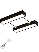 baratos -Geométrica / Novidades Montagem do Fluxo Luz Ambiente - Proteção para os Olhos, Regulável, 220-240V, Dimmable Com Controle Remoto, Fonte de luz LED incluída