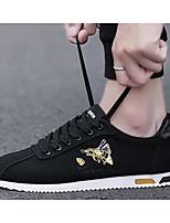 Недорогие -Муж. Комфортная обувь Полотно Весна Кеды Красный / Черный / Красный / Черный / Желтый