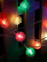 Недорогие -6м Гирлянды 56 светодиоды Разные цвета 220-240 V 1 комплект