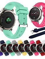 Недорогие -Ремешок для часов для Fenix Garmin Спортивный ремешок силиконовый Повязка на запястье