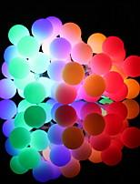 Недорогие -5 метров Гирлянды 20 светодиоды Тёплый белый / Белый / Разные цвета Декоративная / Cool Аккумуляторы AA
