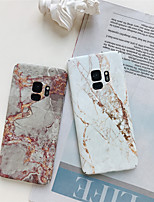 billiga -fodral Till Samsung Galaxy S9 Plus / S8 Plus Mönster Skal Marmor Hårt PC för S9 / S9 Plus / S8 Plus