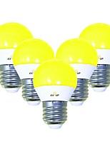 Недорогие -EXUP® 5 шт. 5 W 450 lm E26 / E27 Круглые LED лампы G45 12 Светодиодные бусины SMD 2835 Очаровательный / Творчество / Для вечеринок Желтый 220-240 V / 110-130 V
