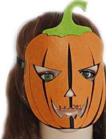 Недорогие -Праздничные украшения Украшения для Хэллоуина Маски на Хэллоуин / Хэллоуин Развлекательный Декоративная / Cool Оранжевый 1шт