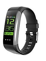 abordables -Bracelet à puce YY-CK16 pour Android iOS Bluetooth Sportif Imperméable Moniteur de Fréquence Cardiaque Mesure de la pression sanguine Ecran Tactile Podomètre Rappel d'Appel Moniteur d'Activit