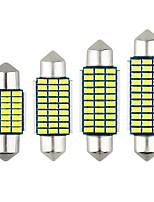 Недорогие -1 шт. 31mm / 41mm / 36mm Автомобиль Лампы 10 W SMD 3014 800 lm 27 Светодиодная лампа Внешние осветительные приборы Назначение