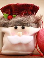 Недорогие -Подарочные мешки Новогодняя тематика Ткань Оригинальные Рождественские украшения