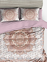 cheap -Duvet Cover Sets Stripes / Ripples / Contemporary Polyster Printed 4 Piece