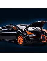 Недорогие -Rastar Игрушечные машинки Гоночная машинка Транспорт профессиональный уровень / Мерцание / Cool Металлический сплав / Полипропилен + ABS Все Для подростков Подарок 1 pcs