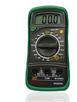 Недорогие -mastech mas830l мини-цифровой мультиметр с подсветкой портативный многофункциональный мультиметр