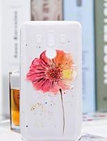 Недорогие -Кейс для Назначение Huawei Mate 10 pro / Mate 10 lite Прозрачный / С узором Кейс на заднюю панель Цветы Мягкий ТПУ для Mate 10 / Mate 10 pro / Mate 10 lite