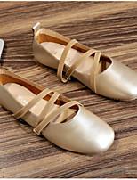 Недорогие -Жен. Комфортная обувь Полиуретан Весна На плокой подошве На плоской подошве Золотой / Черный / Желтый