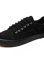 Недорогие -Муж. Комфортная обувь Полиуретан Осень На каждый день Кеды Нескользкий Контрастных цветов Черный / Серый / Черный / Желтый
