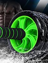 Недорогие -15 см Ab Wheel Roller С 1 Коврик Удобный, Дополнительная фирма Non-Slip, растягивание, Улучшение задних изгибов ПВХ (поливинилхлорида), Полипропилен + ABS Назначение