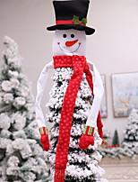 Недорогие -Орнаменты Новогодняя тематика Ткань / пластик куб Мультфильм игрушки Рождественские украшения