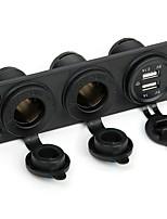 Недорогие -Автомобиль Автомобильное зарядное устройство 2 USB порта для 5 V