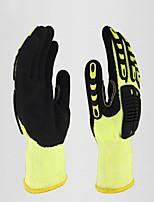 Недорогие -1 пара Полиэтилен Перчатка Защитные перчатки Безопасность и защита Противоскользящий