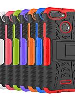 Недорогие -Кейс для Назначение Xiaomi Xiaomi Pocophone F1 / Xiaomi Redmi Note 6 Защита от удара / со стендом Кейс на заднюю панель Плитка / броня Твердый ПК для Redmi Note 5A / Xiaomi Redmi Note 6 / Xiaomi