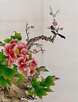 Недорогие -Оконная пленка и наклейки Украшение Художественные / Ретро / Старинный Цветочный принт ПВХ Новый дизайн / Cool