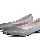 Недорогие -Жен. Комфортная обувь Полиуретан Осень На каждый день На плокой подошве На низком каблуке Серый / Розовый