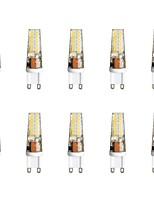 baratos -10pçs 3 W 300 lm G9 Luminárias de LED  Duplo-Pin T 28 Contas LED SMD 2835 Branco Quente / Branco 85-265 V