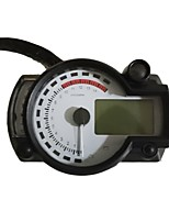 Недорогие -c-026 Мотоцикл Счётчик пробега / Масляный манометр / Спидометр для Мотоциклы Все года измерительный прибор тахометр