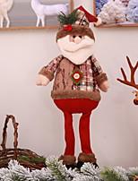 Недорогие -Рождественские украшения Новогодняя тематика Ткань Квадратный Мультипликация Рождественские украшения