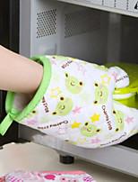 Недорогие -1pc практичная микроволновая печь mitt изолированная нескользящая защитная перчатка для ловли холодного или горячего кухонного аксессуара случайный цвет