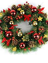Недорогие -Гирлянды Новогодняя тематика пластик Мультипликация Рождественские украшения