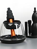baratos -gourd shape pro escova de maquiagem elétrica& secador conjunto compo escovas ferramenta de lavagem maquiagem pincéis limpador