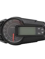 Недорогие -mls027 Мотоцикл Тахометр / Счётчик пробега / Спидометр для Мотоциклы Все года Универсальный измерительный прибор тахометр