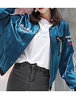 cheap -Women's Street chic Jacket - Letter