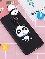 cheap -Case For Samsung Galaxy S9 Plus / S8 Plus Pattern / DIY Back Cover Panda Soft TPU for S9 / S9 Plus / S8 Plus