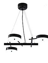 Недорогие -ZHISHU 3-Light Геометрический принт / Оригинальные Люстры и лампы Потолочный светильник Окрашенные отделки Металл Новый дизайн 110-120Вольт / 220-240Вольт Теплый белый / Белый