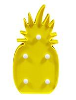 billiga -BRELONG® 1st Ananas 3D nattlampa Varmvit AA Batterier Drivs För Barn / Födelsedag / Dekorativ <5 V