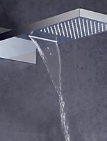 Недорогие -Современный Дождевая лейка Хром Особенность - Дождевая лейка / Для душа, Душевая головка