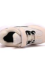 Недорогие -Мальчики / Девочки Обувь Полиуретан Весна & осень / Весна Удобная обувь Спортивная обувь Беговая обувь / Для прогулок Шнуровка / Комбинация материалов для Дети / Для подростков / Контрастных цветов