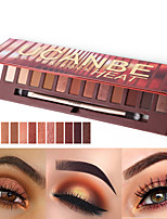 cheap -Makeup 12 Colors Eye Shadow EyeShadow Cruelty Free / Formaldehyde Free / Pro Shimmer glitter gloss Coverage Long Lasting Daily Makeup / Halloween Makeup / Party Makeup Makeup Cosmetic
