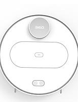abordables -360 Aspirateurs Robotiques Nettoyeur S6 Télécommandé Rechargement automatique Wi-Fi Lavage Automatique Spot Cleaning