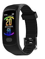Недорогие -Умный браслет E07 для Android iOS Bluetooth Спорт Водонепроницаемый Пульсомер Измерение кровяного давления Сенсорный экран