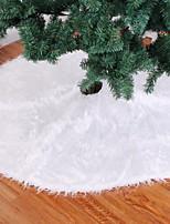 Недорогие -Рождественские украшения Праздник Ткань Круглый Оригинальные Рождественские украшения